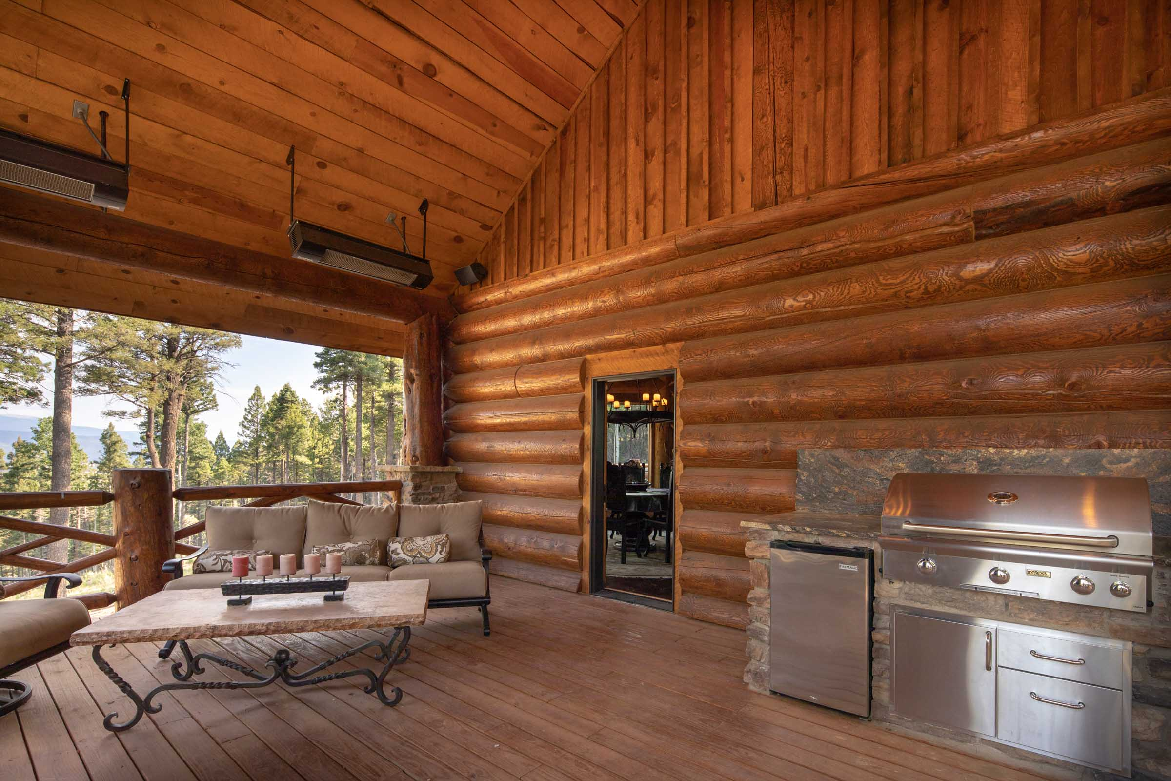 Luxury log cabin angel fire new mexico-28