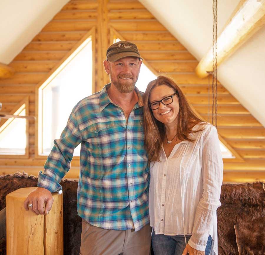 Eric and Jen Hoffmann
