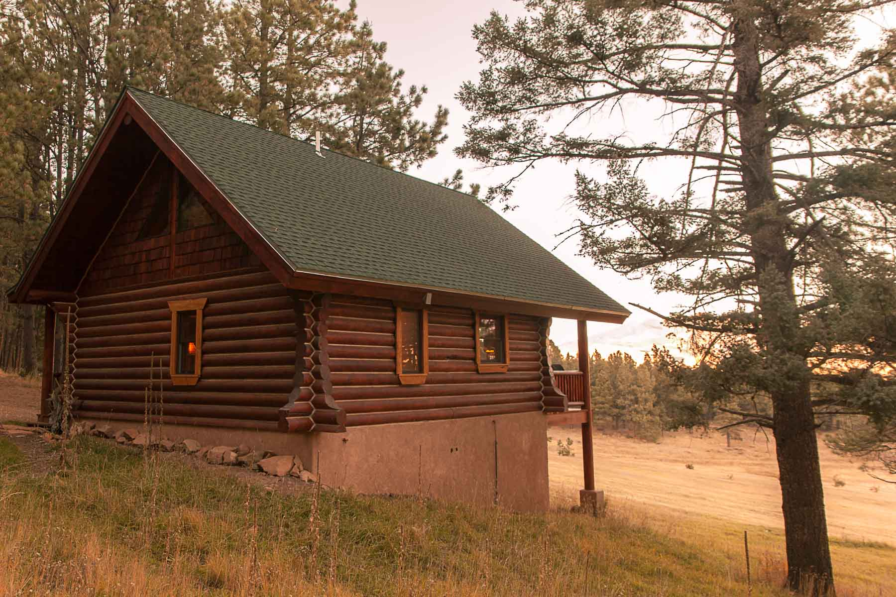 casita log home kit colorado new mexico-16