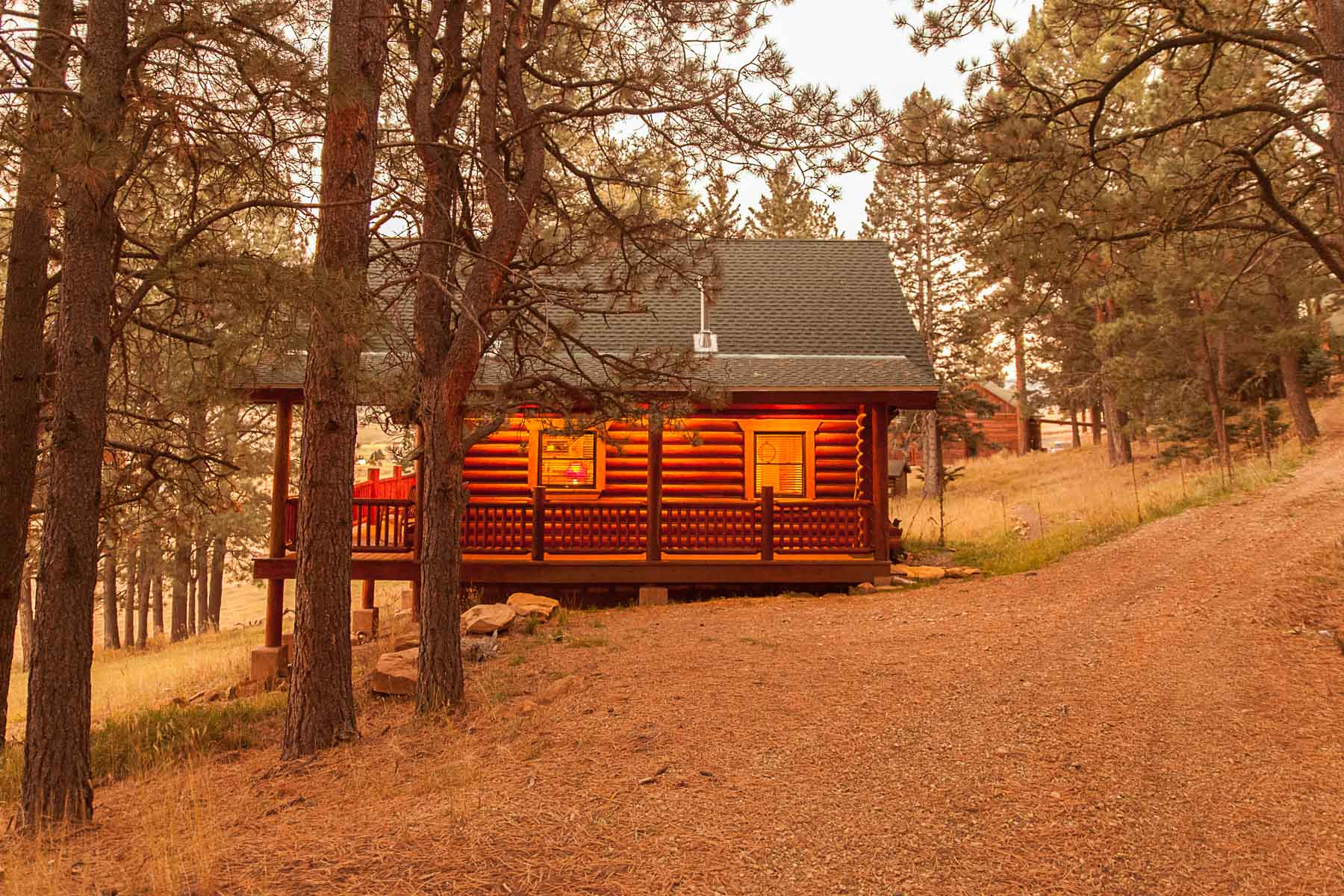 casita log home kit colorado new mexico-20
