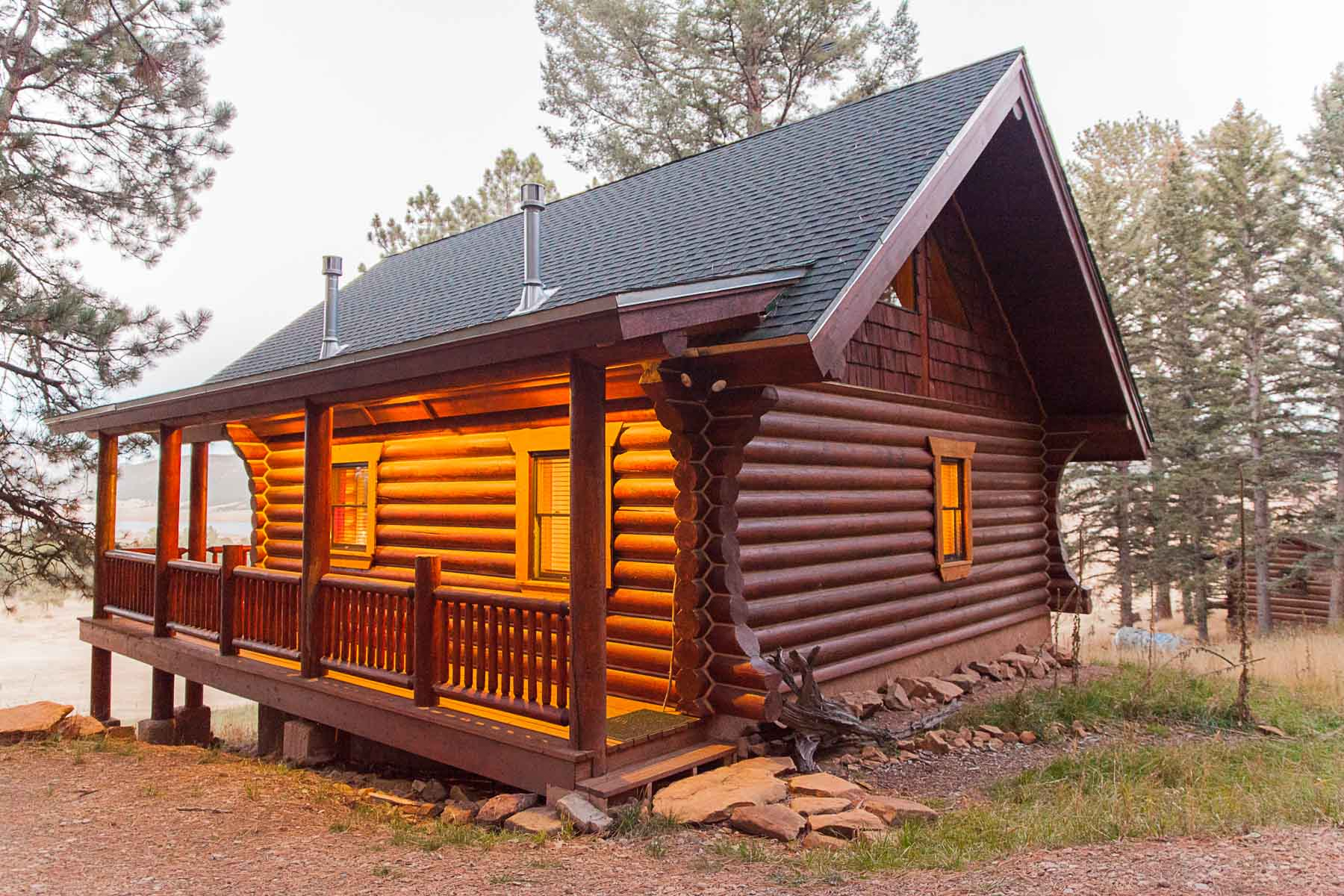 customizable log cabin kit the casita colorado and new mexico