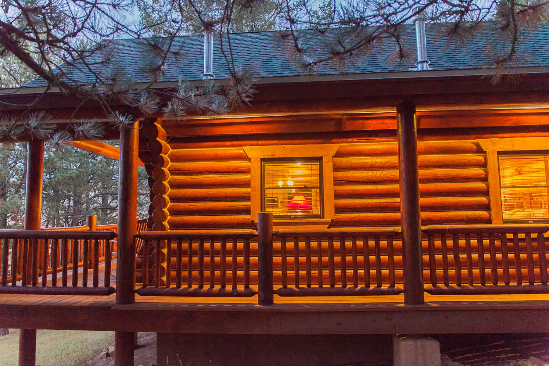 casita log home kit colorado new mexico-23